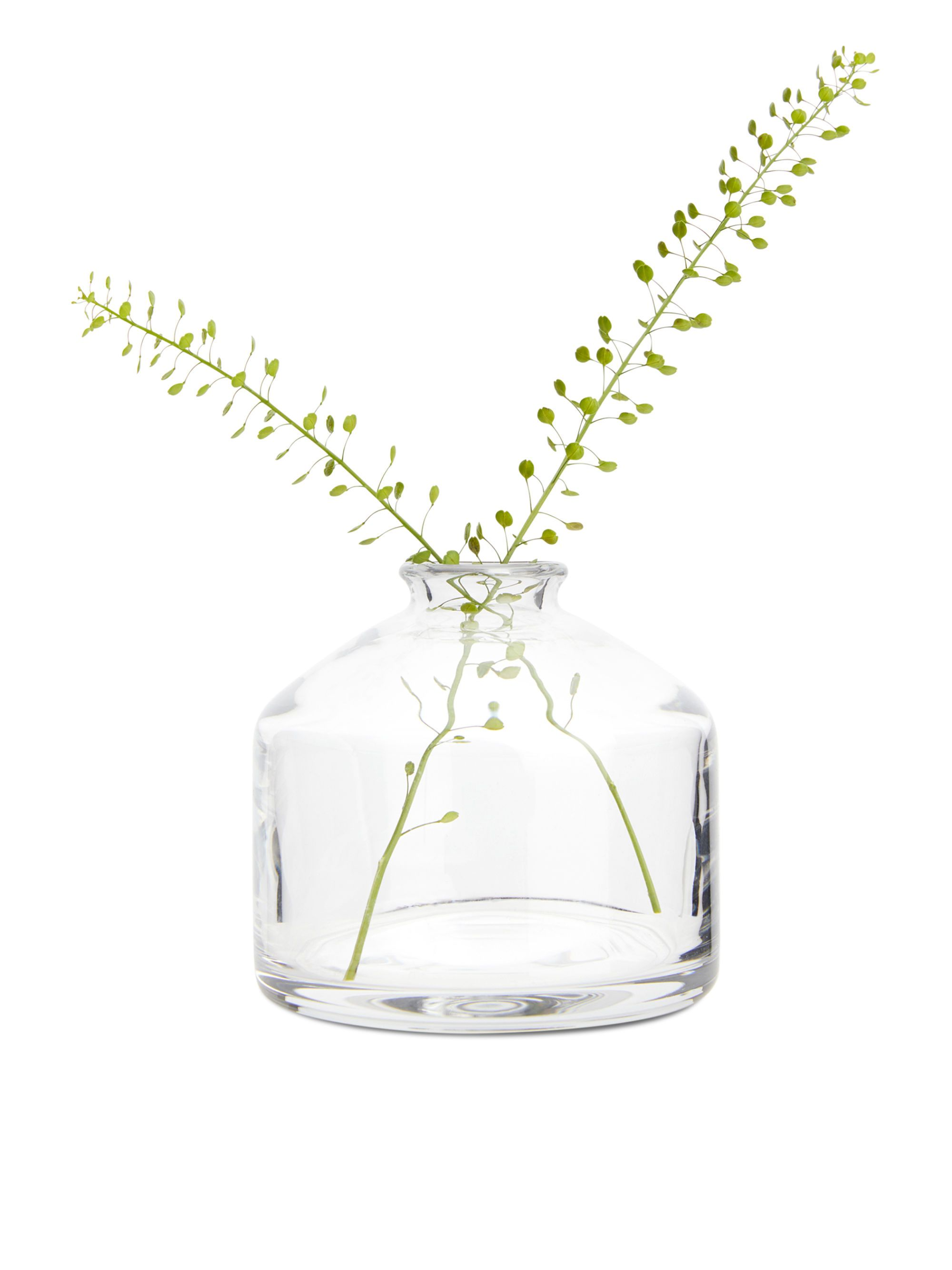 571010 724 Extra Small Glass Vase A Delicate Mouth Blown Vase With A Small Opening Perfect For That Odd Flower Or Twig Out M Small Glass Vases Glass Decor