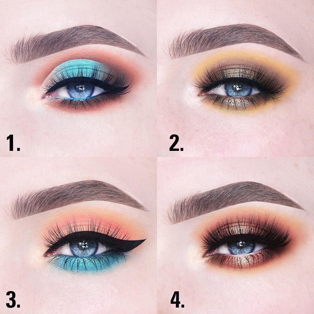 4 Different Eye Looks Using The Take Me On Vacation Kyshadow