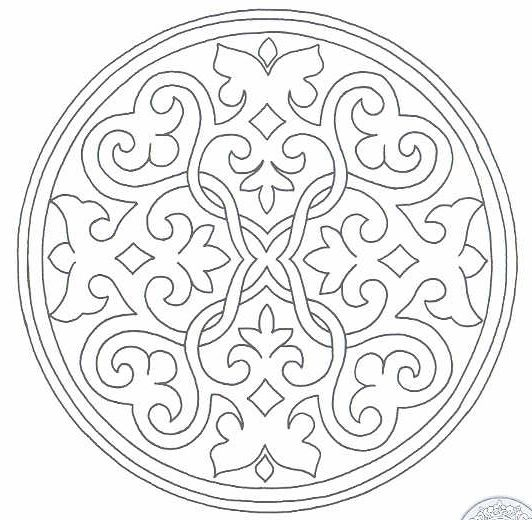 Detailed Christmas Coloring Pages | Very Detailed Coloring Pages 8 ...