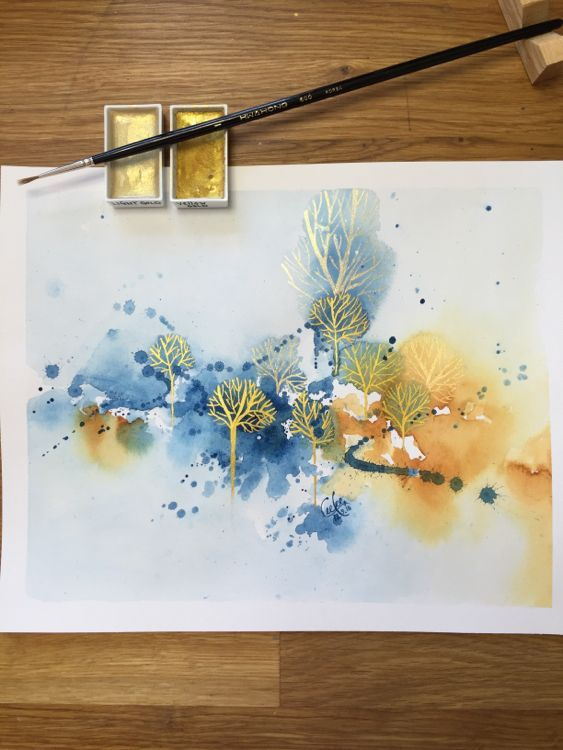 Tillith Is Creating Paintings And Process Videos Watercolor Art