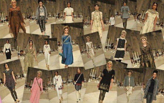 All the looks of Chanel Métiers d'Art  París-Bombai collection 2011