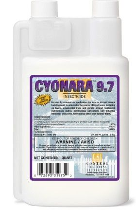 Cyonara 9 7 contains Sigma Technology  Used for outdoor perimeter