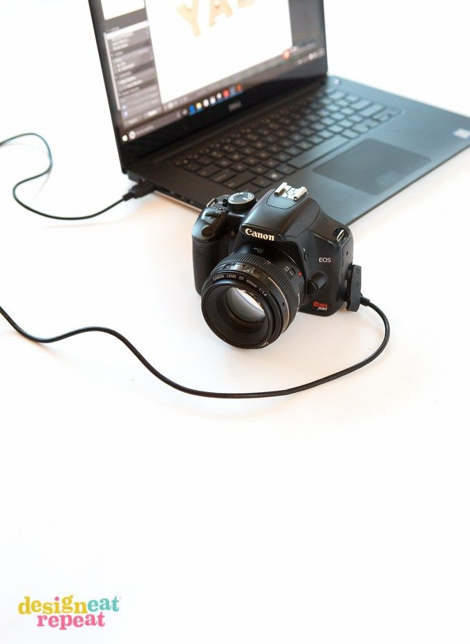 How To Tether Your Camera To Your Computer Laptop Photography Camera Hacks Camera Diy