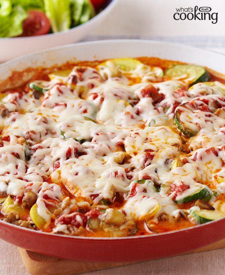 Skillet Vegetable Lasagna Kraft What S Cooking Recipe Vegetable Lasagna Vegetable Lasagna Recipes Recipes