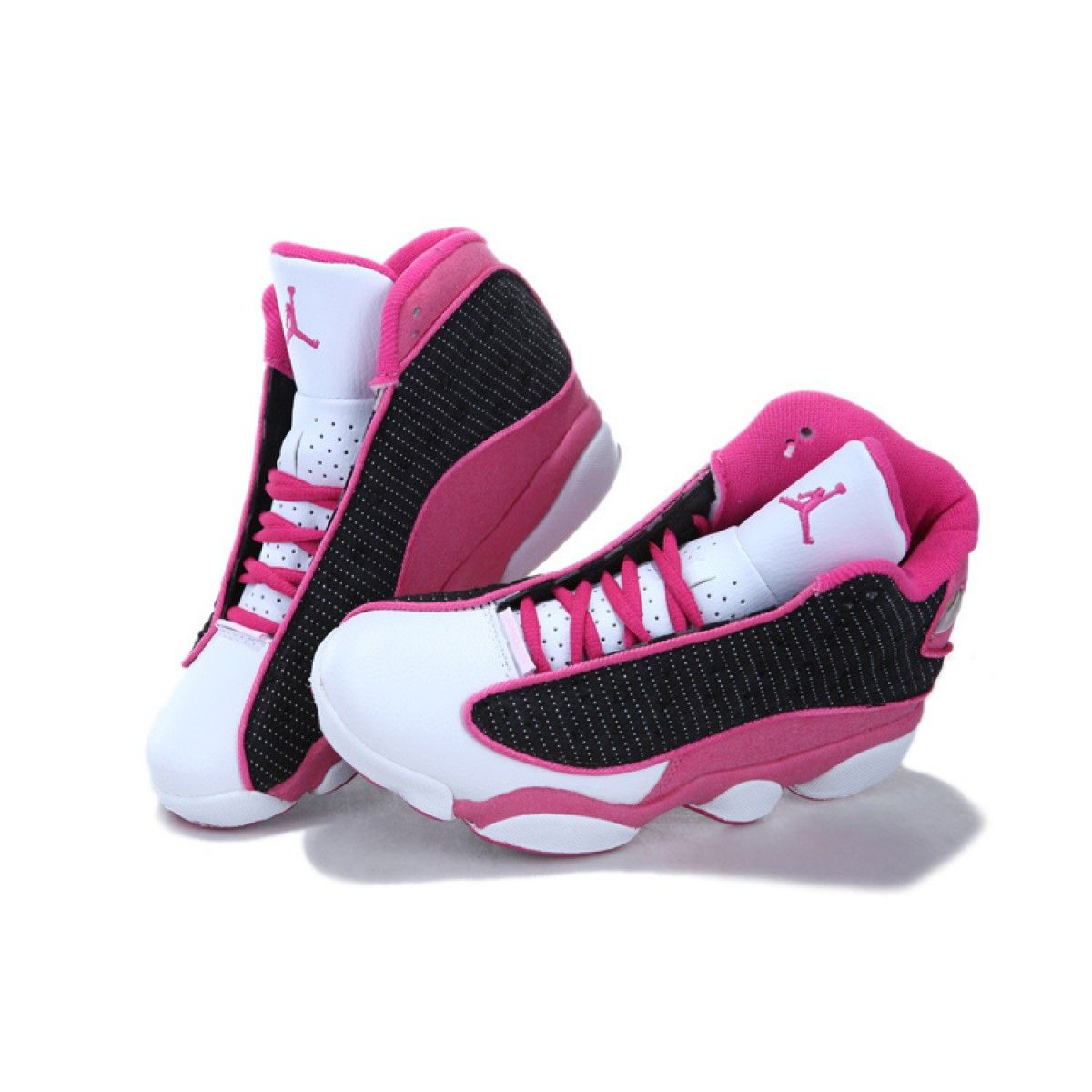 sports shoes 17159 47d2c Pink Women Air Jordan 13