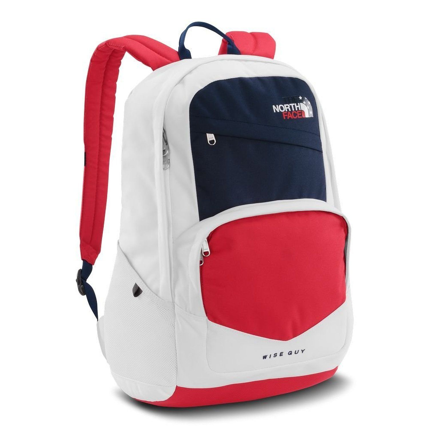 40fd01091 Amazon.com: The North Face USA Wise Guy Backpack TNF White/Cosmic ...