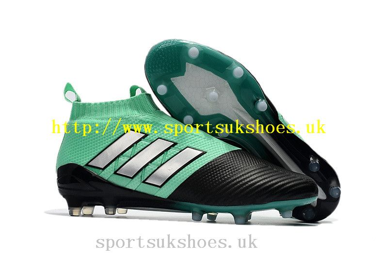 newest b7ec1 e8b53 New Adidas ACE 17+ Purecontrol FG Football Boots - GreenSilverCore Black
