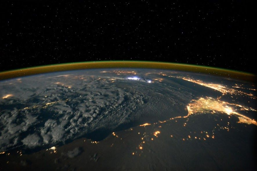 aboard the International Space Station Space photos