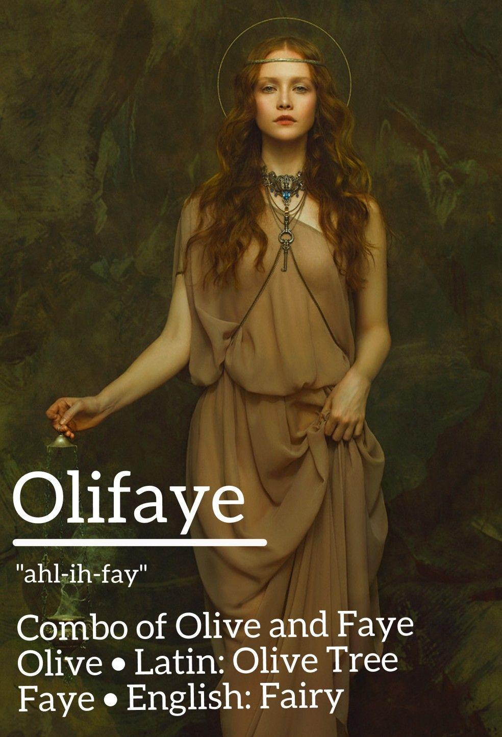 Combo of Olive and Faye - Olive > Latin: Olive Tree / Faye
