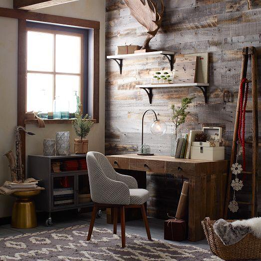 Work In Coziness 20 Farmhouse Home Office Décor Ideas: Home Office Decor, Home
