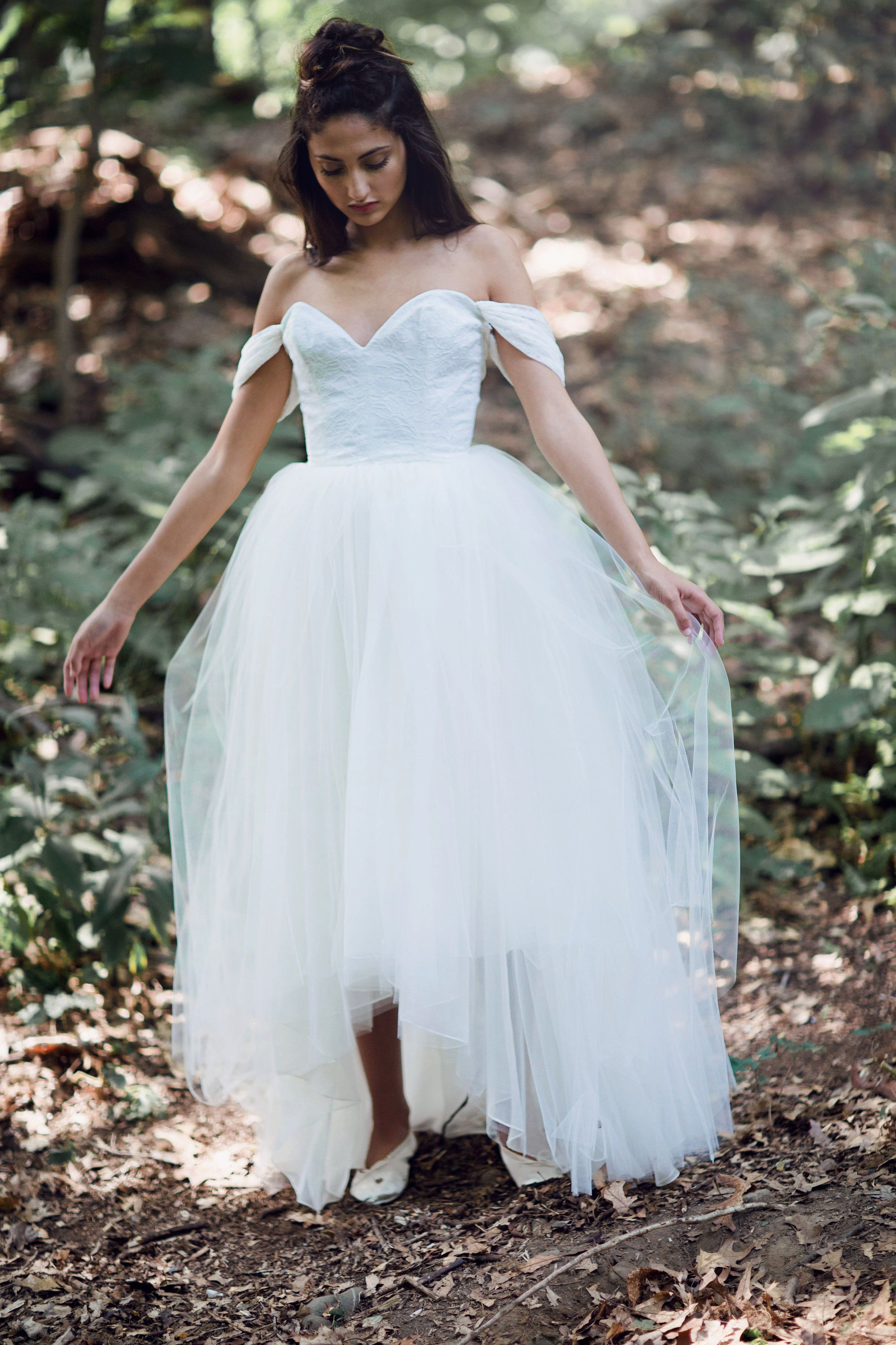 Dress for wedding party in winter  Our Coeur bodice worn with the Adele skirt  Giselle  Pinterest