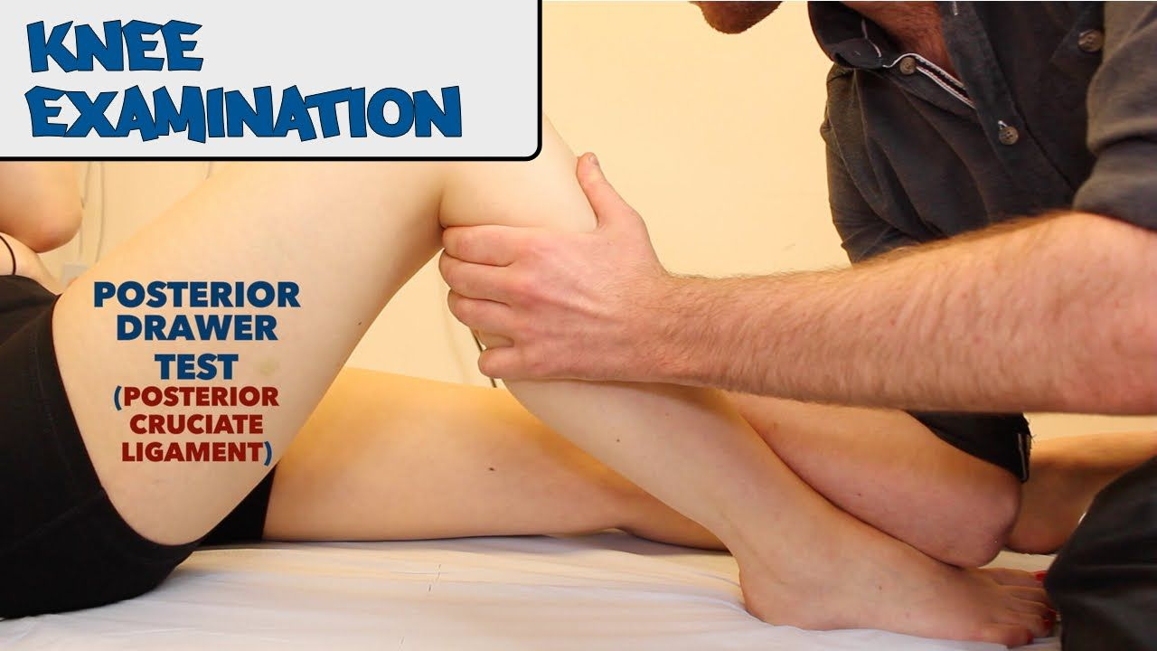 Knee Examination Osce Guide New Version Cruciate Ligament Knee Youtube