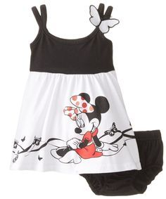 Amazon.com: Disney Baby-Girls Newborn Minnie Mouse Knit Dress with Panty Set: Clothing
