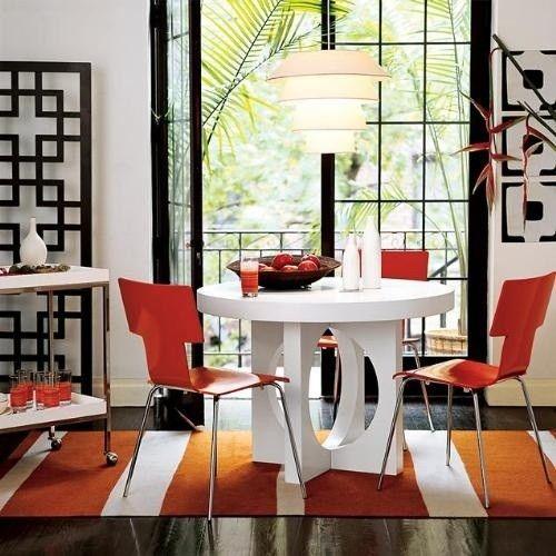 10 magn ficas fotos de comedores con mesas redondas for Quiero ver comedores