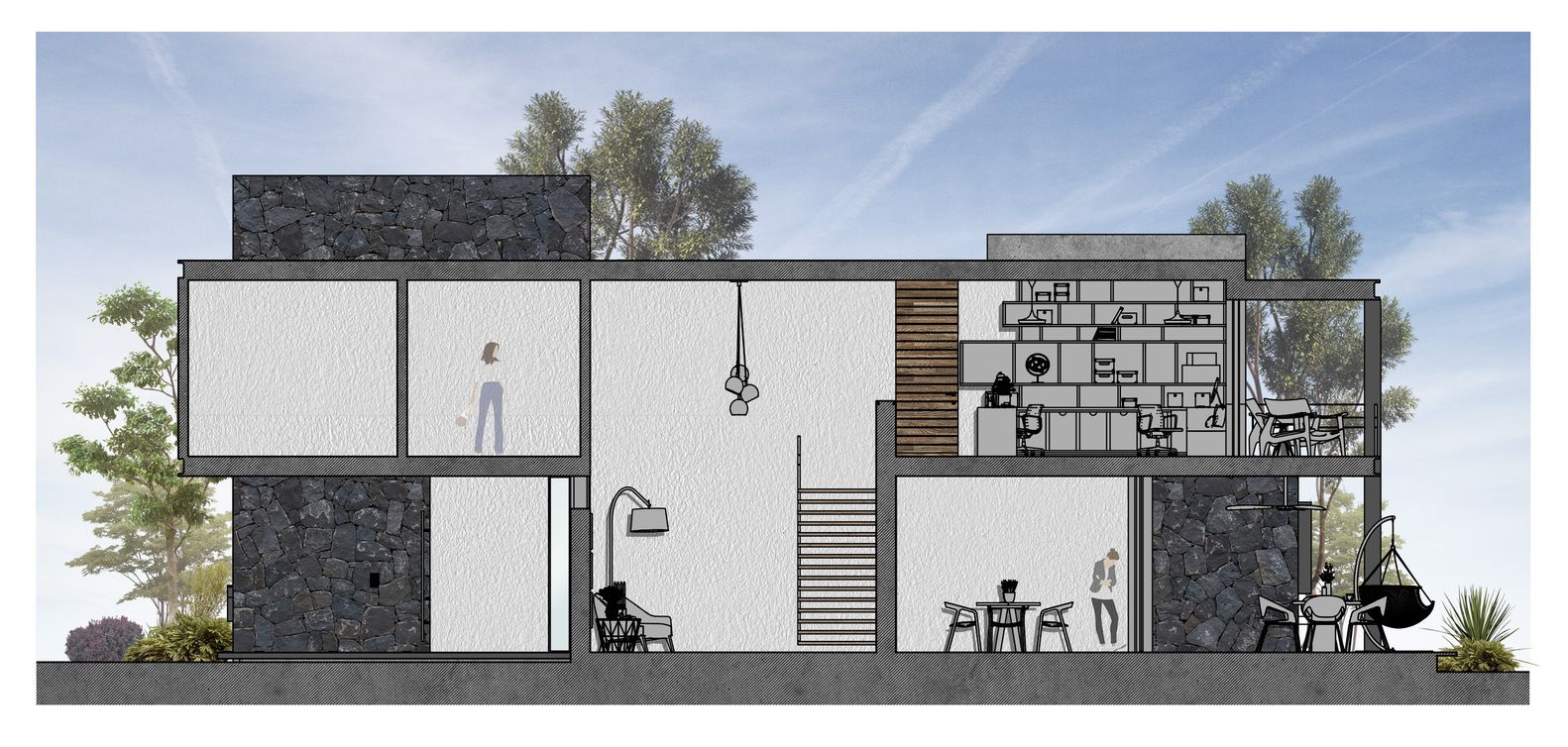 Gallery Of Hilca House Di Frenna Arquitectos 17 In 2020 House Architecture Ground Floor