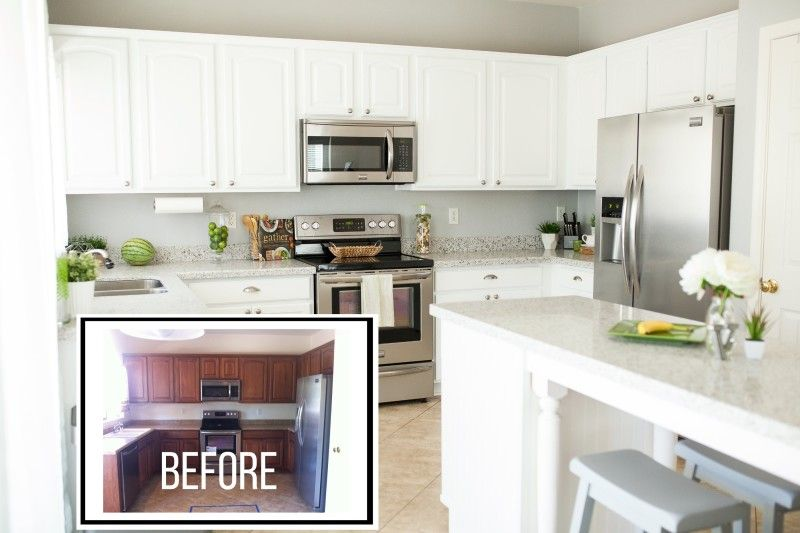 Americana Decor Satin Enamels Kitchen Makeover By Taush O