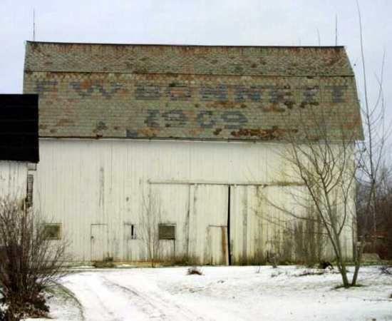 dated 1909 - barn in Ohio
