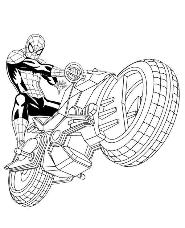 Spiderman Coloring Pages Venom Immagini