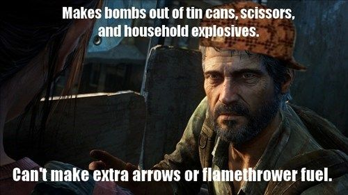 Funny Cod Zombie Memes : The last of us .. seriously joel?! the first of us pinterest