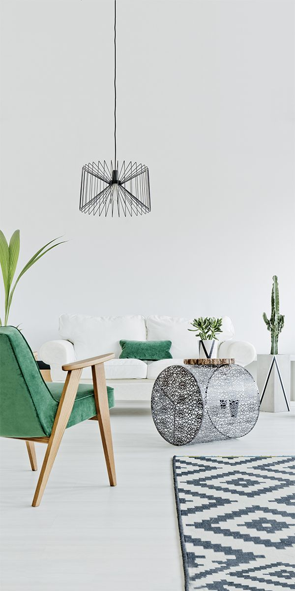 """Adding some Pantone color of the year """"Greenery"""" to your home is super easy with these 5 ideas."""