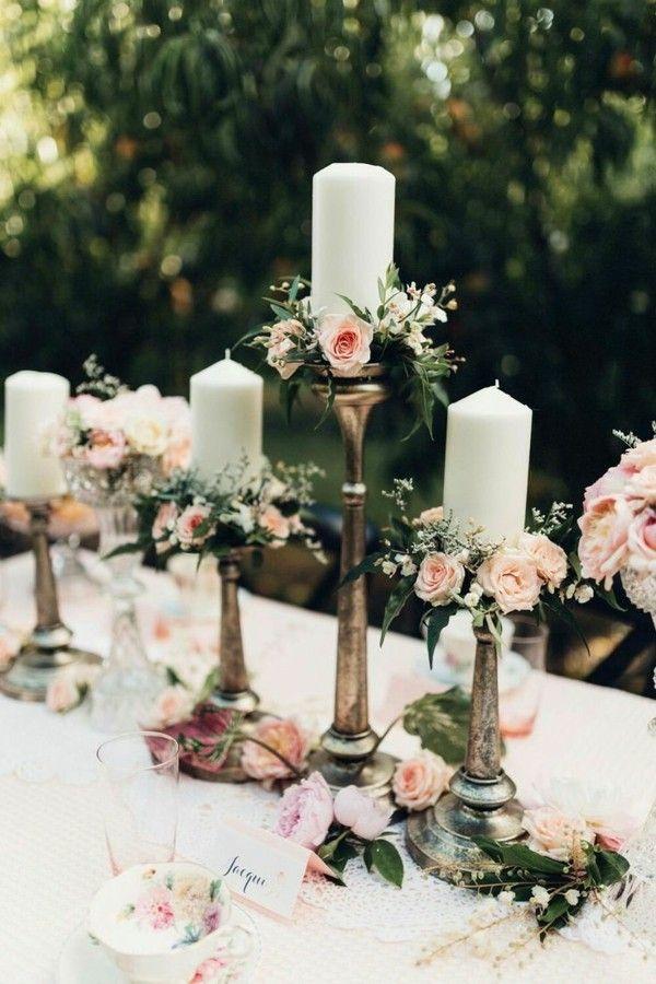 Haga su propia vela de boda: más de 50 ideas inspiradoras