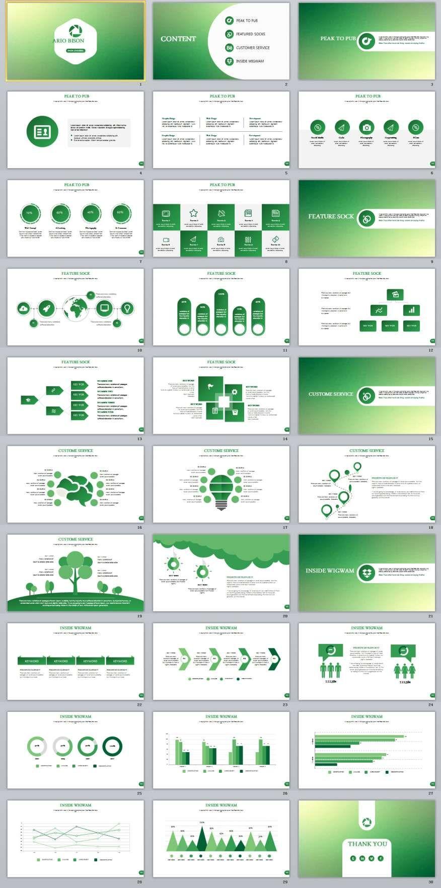 28 best green report powerpoint templates pinterest 28 best green report powerpoint templates toneelgroepblik Gallery