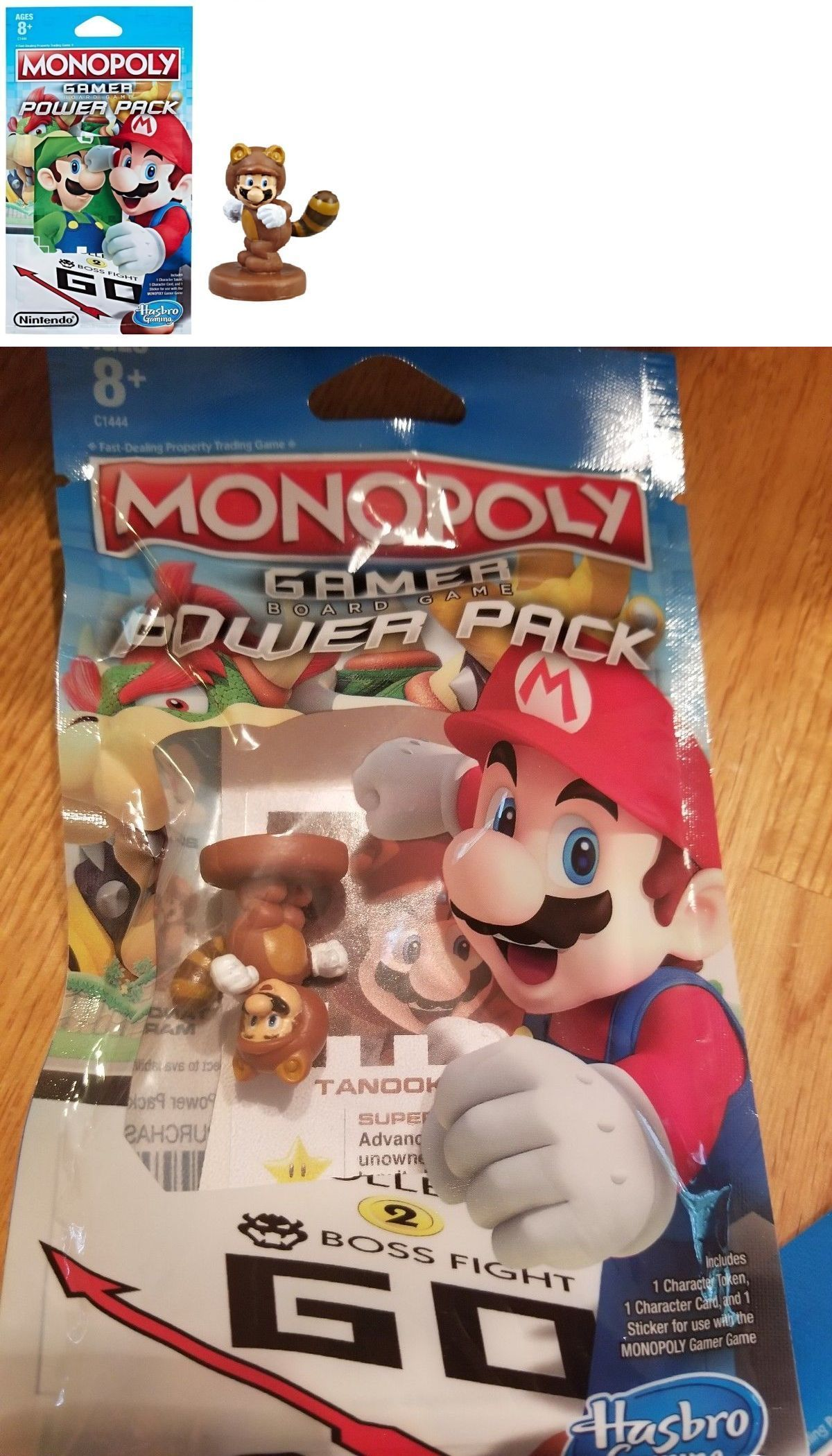 Game Pieces Parts 7317 New Monopoly Gamer Mario Kart Bowser Power