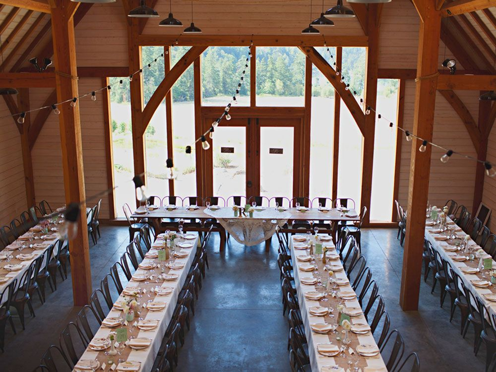 A Lovely Barn Wedding On Vancouver Island | Canadian ...