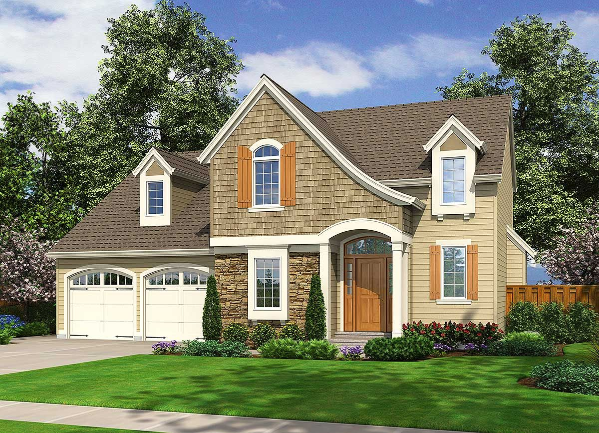 Plan 39157st Signature Swooping Roof In 2020 Cottage House Plans Colonial House Plans Cottage Homes