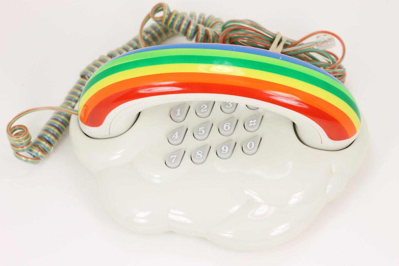 rainbow telephone
