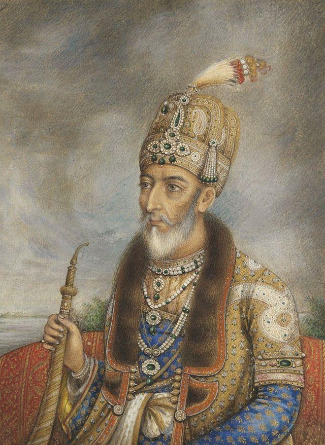 Bahadur Shah II of India - Indian Rebellion of 1857 - Wikipedia, the free encyclopedia