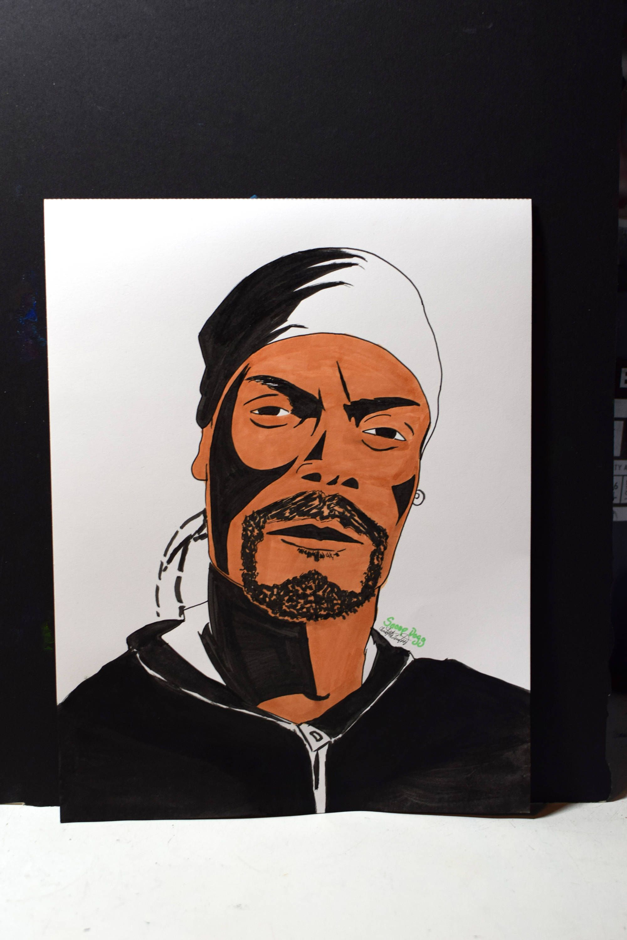 Original Copic Illustration Of Snoop Dogg Copic Drawings Famous