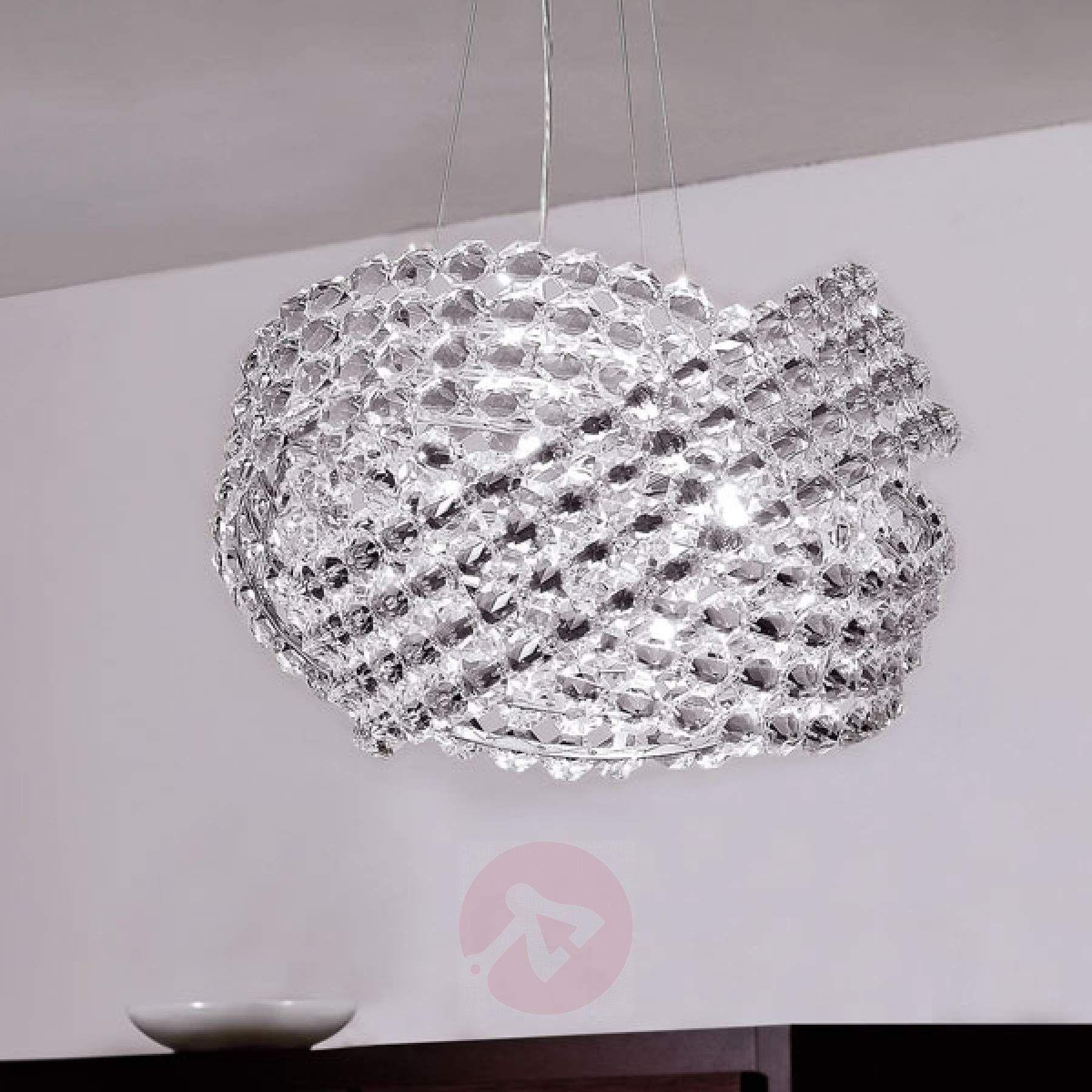 Kristall Pendelleuchte Diamante Ø 40 cm | Pendelleuchte