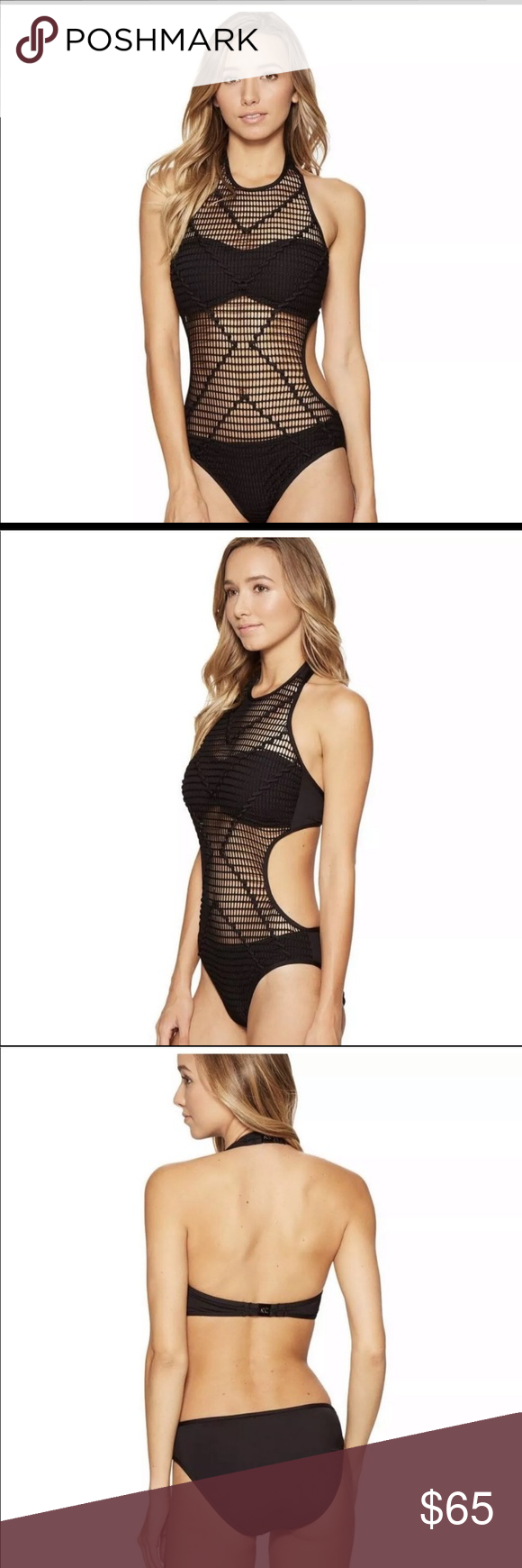 07fd75a756e59 Kenneth Cole wrapped in love Monokini Sexy nwt monokini with sexy cut out  and mesh overlay and cutout! Hygienic liner and tags. Super sexy for this  summer!