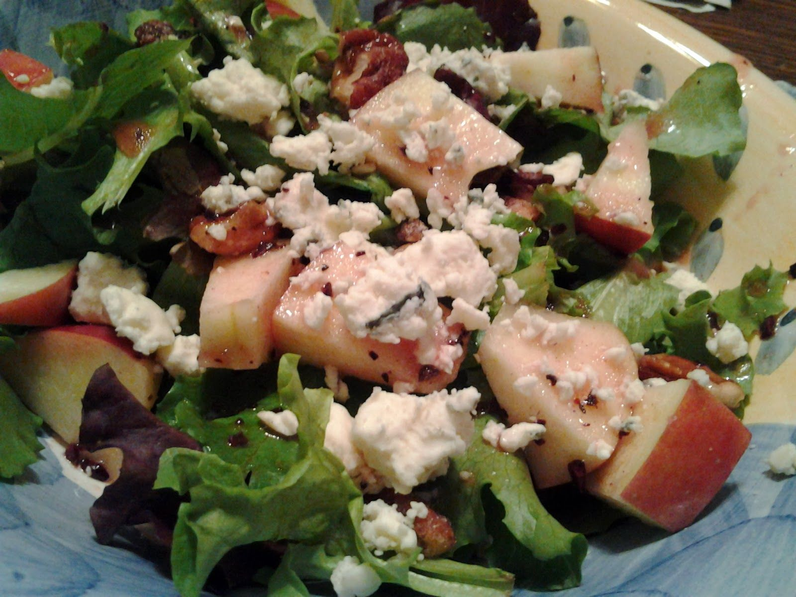 Secrets From The Heart: Apple Pecan Salad - Dave and Busters Copy Cat Salad