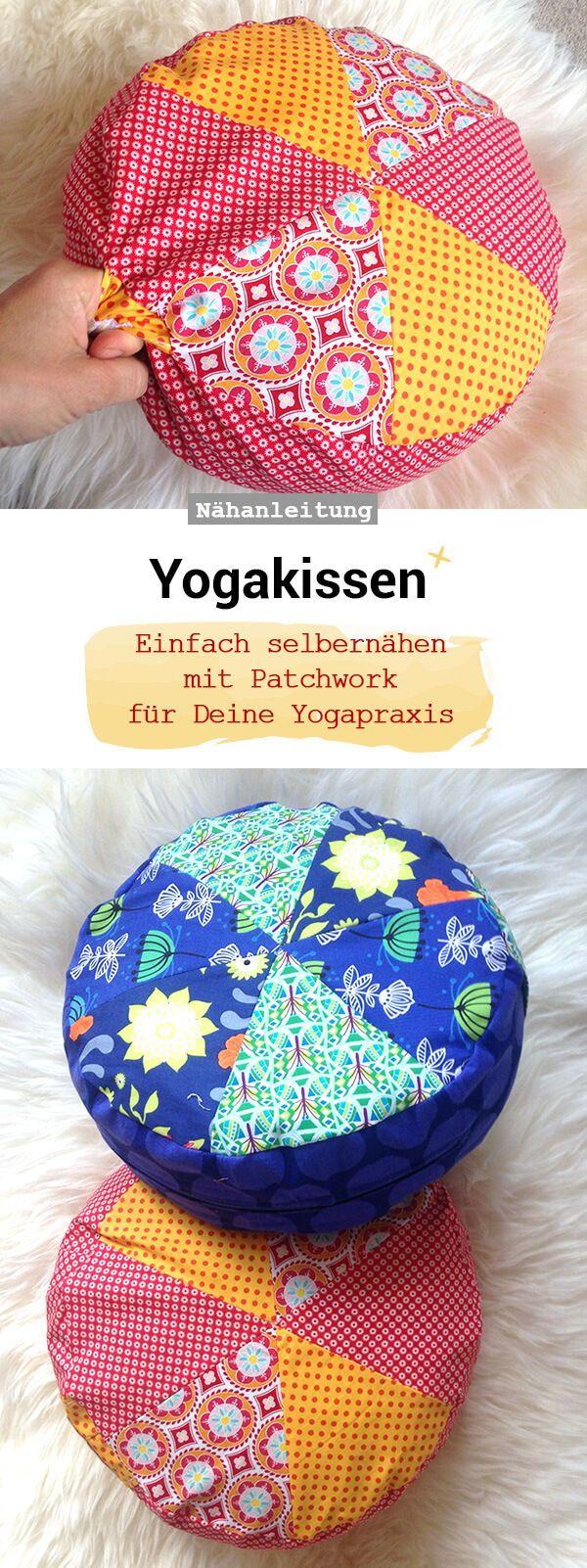 Photo of Bodenkissen in zwei Größen: Yogakissen und Sitzkissen – Frau Scheiner