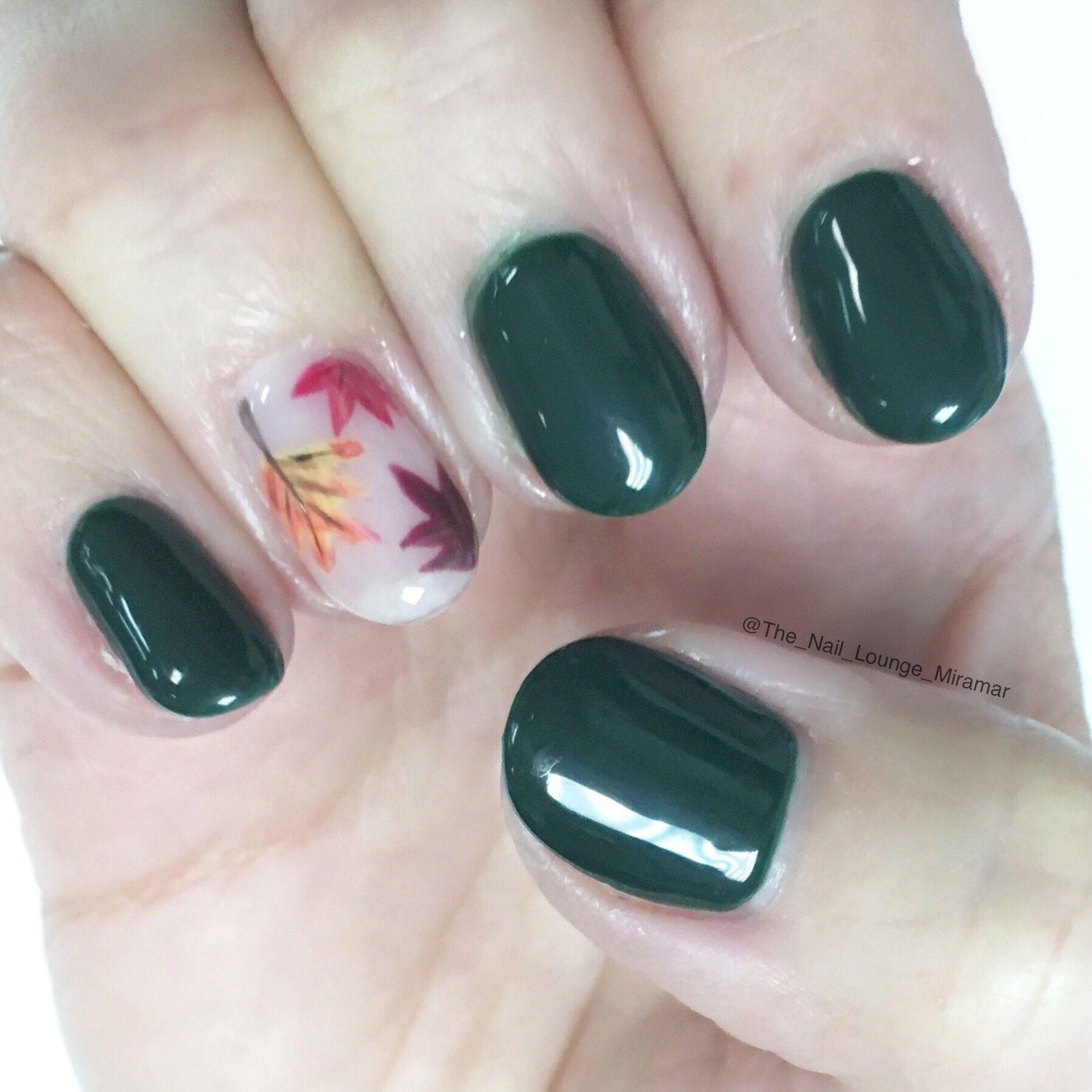 Fall leaves nail art design | Nail Art | Pinterest | Fall leaves