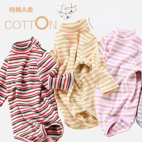 b9c8fc953 Baby bodysuit long sleeves newborn 100% cotton children clothing boy ...