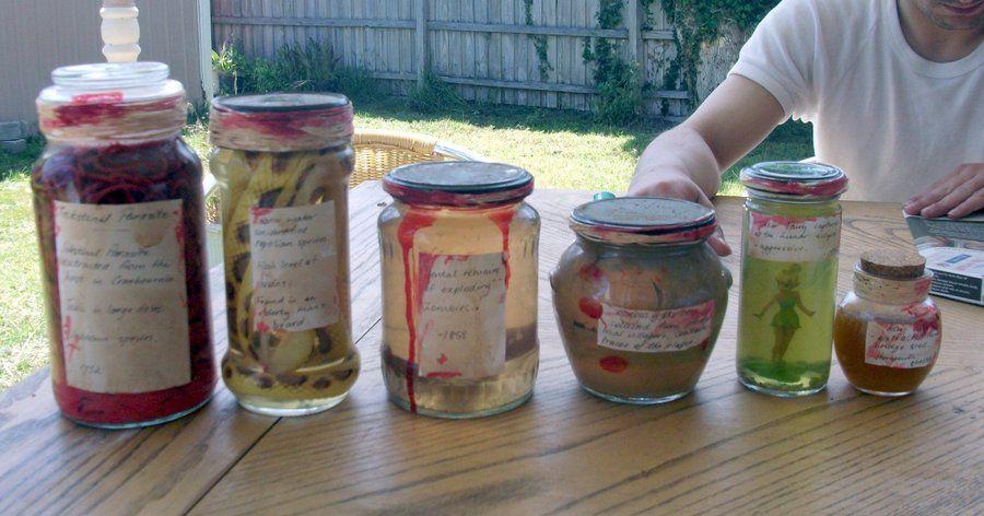 More specimen jars ideas