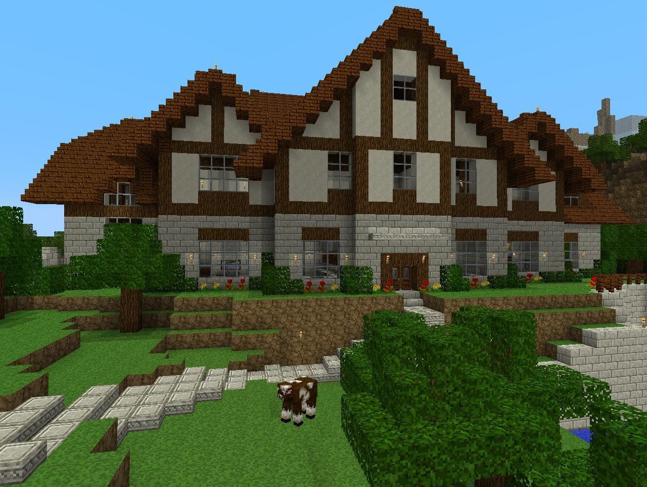 minecraft world 3 mansion prototype jpg972 1280 - Biggest Minecraft House In The World 2017