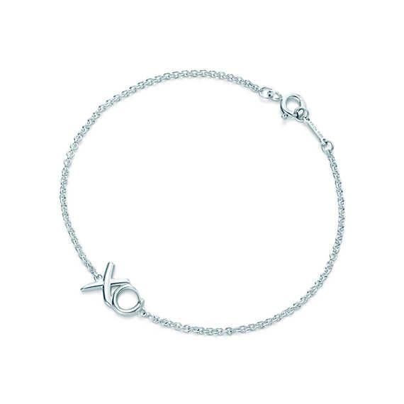 Palomas Graffiti love & kisses bracelet in sterling silver, medium Tiffany & Co.