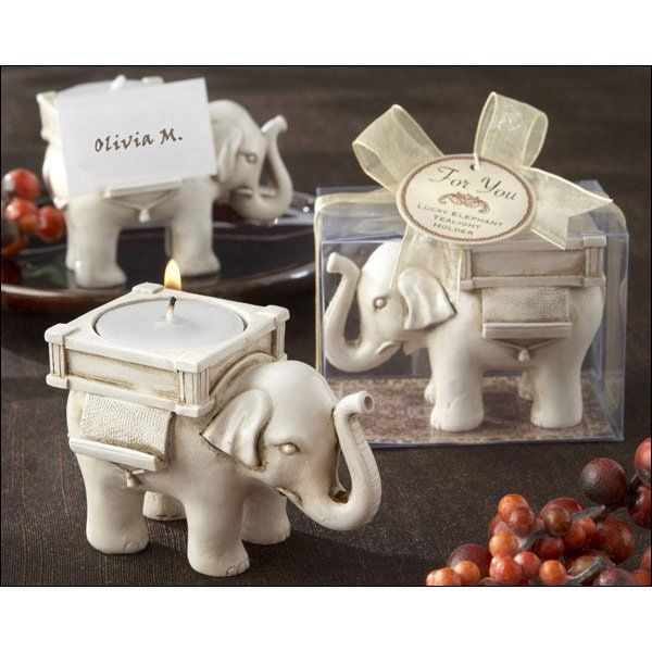 ADRIENNE wedding favor Gift Craft Mini Rose Cake Candle Lucky Elephant Antique Ivory Finish Tea Light Holder-in Candles from Home & Garden on Aliexpress.com