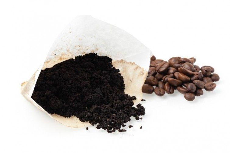 usos de los restos del café