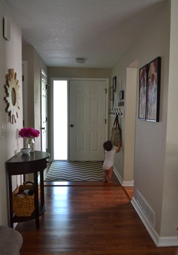 Frame gallery in the entryway | Small entryways, Entryway ...