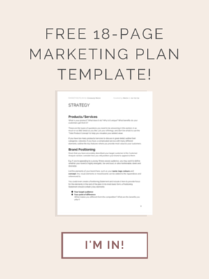 A Business Plan For 2016 Marketing Plan Template Template And