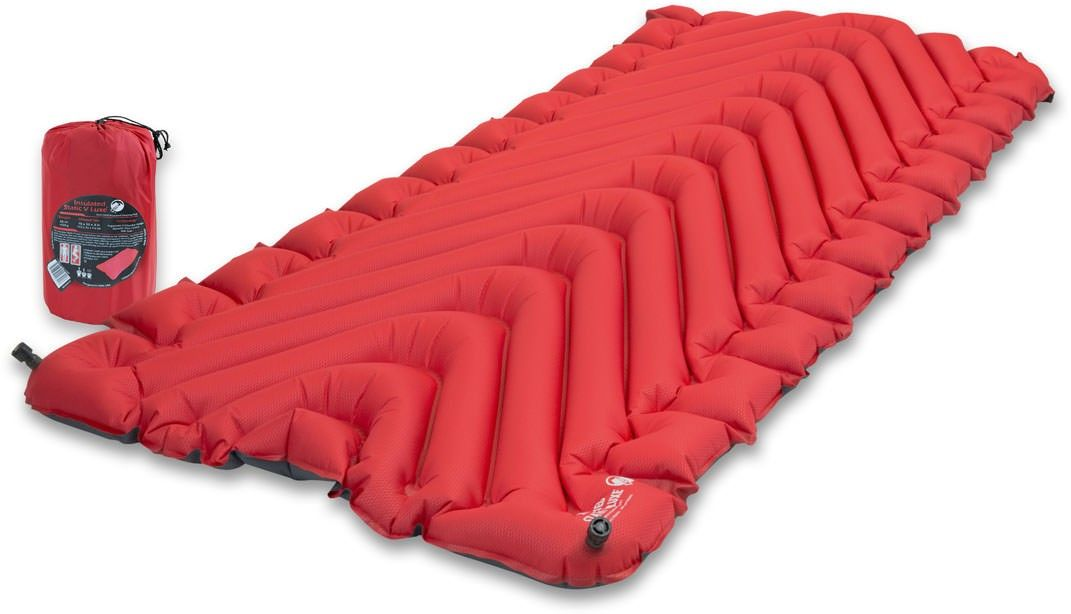 Klymit Insulated Static V Luxe Air Mattress Camping