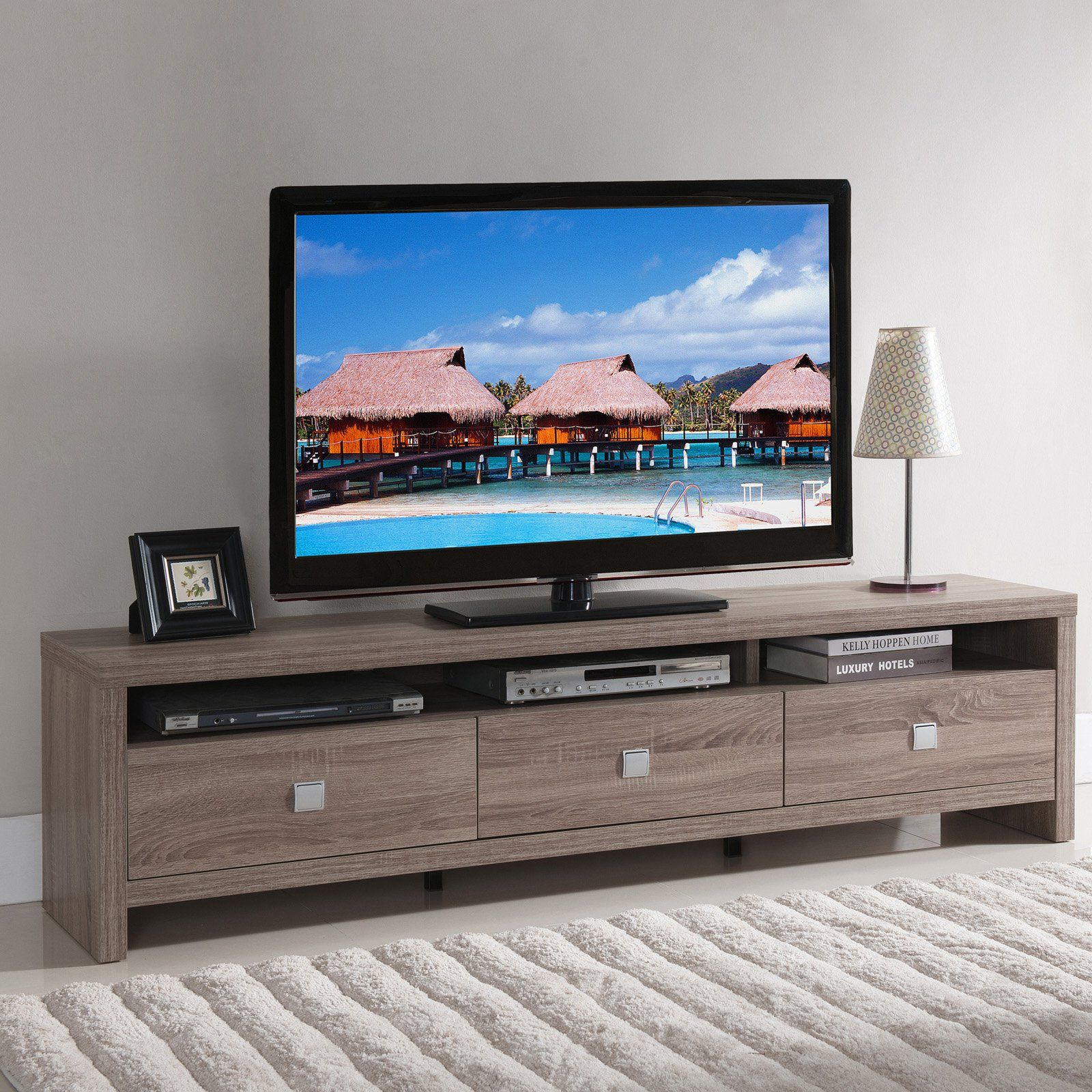 Furniture Of America Contemporary Tv Stand From Hayneedle Com