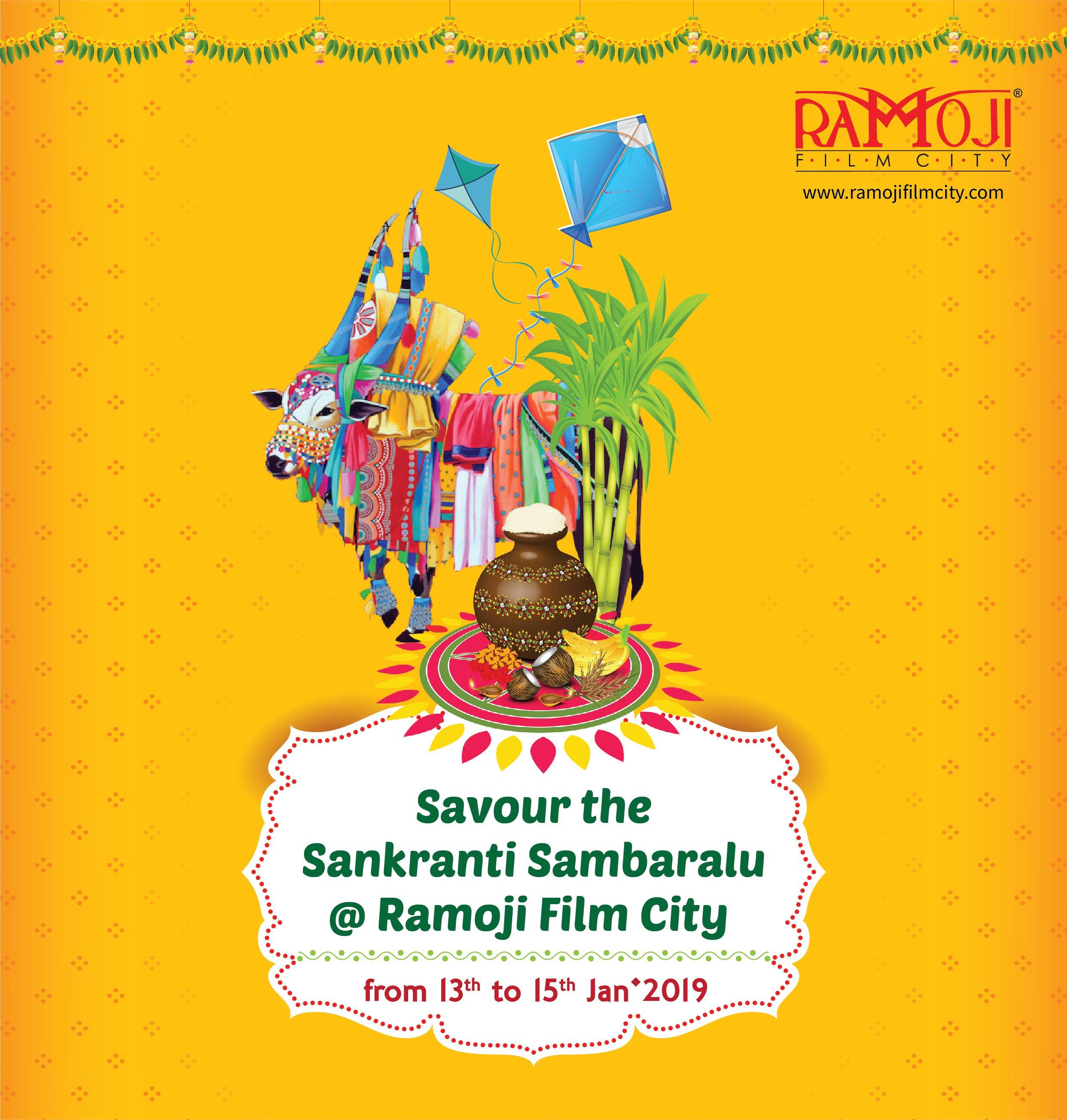 Come Enjoy Sankranti Sambaralu At Ramoji Film City From