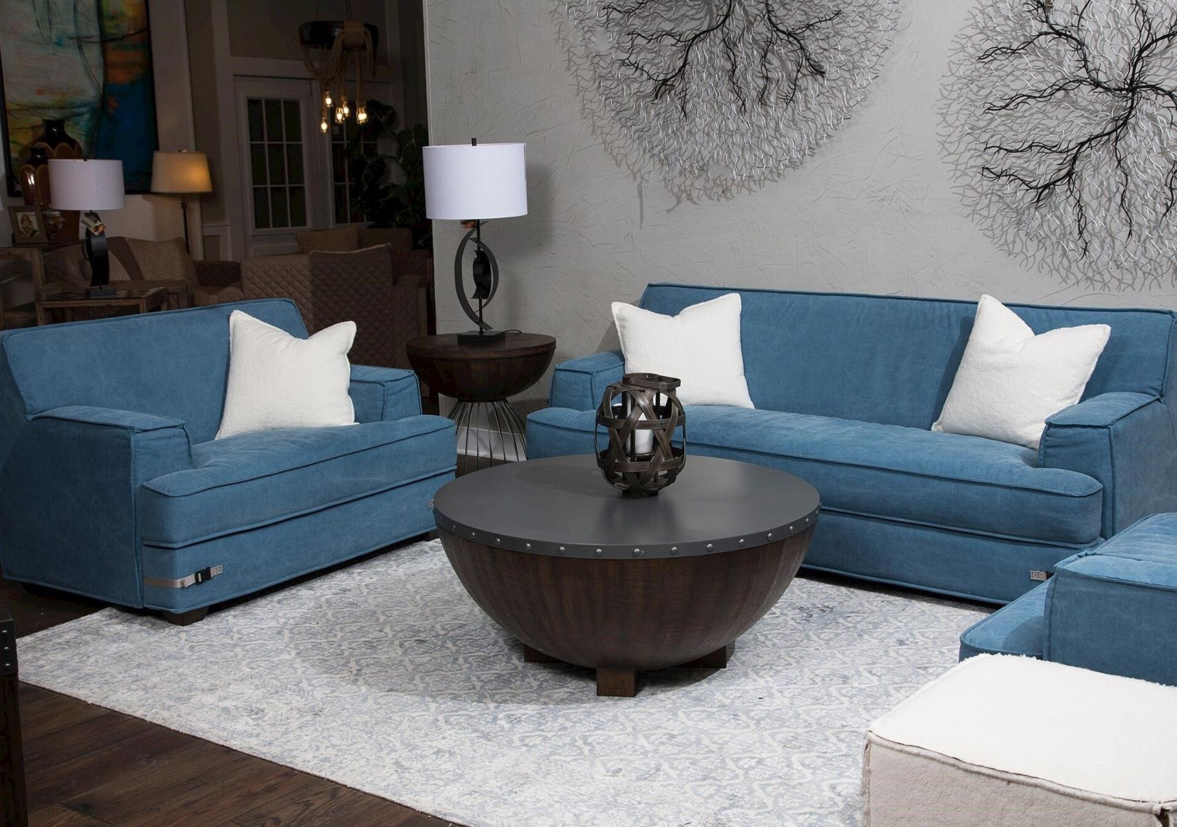 Lacks Penninsula 2 Pc Living Room Set Living Room Sets Room Set Contemporary Style Homes #pc #for #living #room