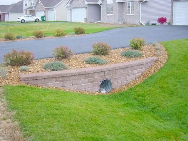 culvert landscaping garden